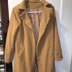 Long tan coat